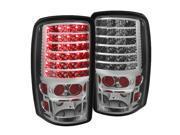 Chevy Suburban/Tahoe 1500/2500 00-06 / GMC Yukon/Yukon XL 00-06 / GMC Yukon Denali/Denali XL 01-06 ( Lift Gate Style Only ) LED Tail Lights - Chrome