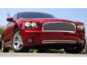 T-REX 2005-2010 Dodge Charger HYBRID Series Grille - CHROME EDITION - w/Wire Mesh CHROME 80474
