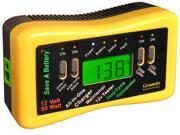 Granite Digital Save-A-Battery 12 Volt 50 Watt Battery Charger Maintainer Tester w/Deep Cycle 9999
