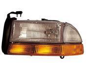 Eagle Eyes 97-01 DODGE DAKOTA / DURANGO&#59; 1997 Dodge Dakota only HEADLIGHT P/L#: CH2502117 OE#: 55055111AB Driver Side CS056-B001L