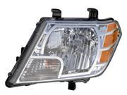 Eagle Eyes 09-11 NISSAN FRONTIER HEADLIGHT P/L#: NI2502188 OE#: 26060-ZL40A Driver Side DS698-B001L