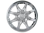 "Pilot 8 Star Chrome 15"" Wheel Cover WH530-15C-BX"