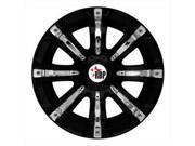 RBP 94R 18X10 6-135 ET ZERO BLACK W/CHR INSERTS 87MM CB Wheel