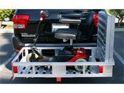 "MAXXTOW Aluminum Cargo Carrier with 60"" Folding Ramp 52-1/2"" x 29"" 70275-LBX"