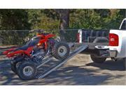 "MAXXTOW Steel Loading Ramps 72"" x 9"" Each Ramp 1000lb Pair 70120-SLV"