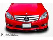 Carbon Creations 2008-2011 Mercedes Benz C Class W204 L-Sport Front Splitter (will fit Sport models only) 107154