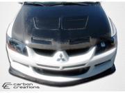 Carbon Creations 2003-2005 Mitsubishi Evo 8 Demon Front Lip Spoiler 102781