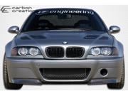 Carbon Creations 2001-2006 BMW M3 E46 CSL Look Front Bumper 105346