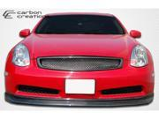Carbon Creations 2003-2007 Infiniti G Coupe G35 D-Spec Front Lip ( for non sport Bumpers) 105664