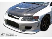 Carbon Creations 2003-2006 Mitsubishi Evolution 8 9 Vader 2 Hood 103125