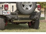 Rugged Ridge 11547.01 Xtreme Heavy Duty Rear Bumper Fits 07-13 Wrangler (JK)