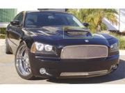 T-REX 2005-2012 Dodge Charger SRT T1 Stainless Hood Scoop (Mesh Look) POLISHED 11475