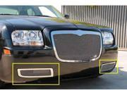 T-REX 2005-2010 Chrysler 300 without factory fog lights Upper Class Polished Stainless Bumper Mesh Grille - Will not fit 300C or Touring w/ Fog Lights POLISHED 55472