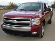 T-REX 2007-2012 Chevrolet Silverado 1500 Billet Grille Overlay/Bolt On & Insert - All Black BLACK 21110B