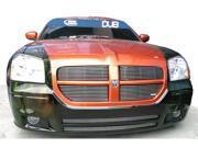 T-REX 2005-2007 Dodge Magnum (Except SRT) Billet Grille Insert - 4 Pc (10, 9 Bars) POLISHED 20473