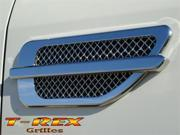 "T-REX  Side Vents - Billet Chrome Plated - Escalade Style - 10.5""x4"" CHROME 54001"
