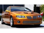 T-REX 2004-2006 Pontiac GTO Bumper Billet Grille Insert (11 Bars) POLISHED 25165