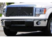 "T-REX 2009-2012 Ford F-150 URBAN ASSAULT ""GRUNT"" - Studded Main Grille w/ Soldier - Black OPS Flat Black - Custom 1 Pc Opening (Requires Cutting center Bars) FLAT BLACK 7115686"