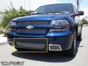 T-REX 2006-2009 Chevrolet Trailblazer SS Bumper Billet Grille Insert - Center ONLY (Sits over factory fog lights) POLISHED 25284