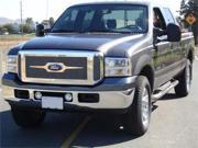 T-REX 2005-2007 Ford Super Duty, Excursion (Except Harley Trucks) Upper Class Polished Stainless Mesh Grille - W/ Optional Logo Plate POLISHED 54561