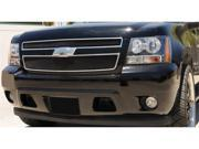 T-REX 2007-2012 Chevrolet Tahoe, Suburban, Avalanche Sport Series Formed Mesh Grille - ALL Black Powdercoat - 2 Pc BLACK 46051