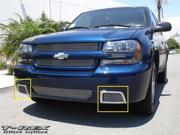 T-REX 2006-2009 Chevrolet Trailblazer SS Bumper Billet Grille Insert - 2 Pc Vents POLISHED 25285