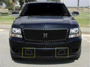 T-REX 2007-2012 Chevrolet Avalanche X-METAL Series - Studded Bumper Grille - ALL Black BLACK 6720511