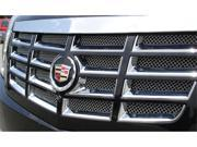 T-REX 2007-2012 Cadillac Escalade, EXT, ESV Upper Class Polished Stainless Mesh Grille - Mesh Only - Replaces factory Mesh from behind openings POLISHED 54195