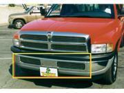 T-REX 1994-2001 Dodge Ram PU, except 99+ Sport Bumper Billet Grille Insert - 6 Bars -Matching Grille # 20450 POLISHED 25440