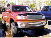 T-REX 1999-2002 Toyota Tundra Bumper Billet Grille Insert (5 Bars) POLISHED 25956