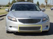 T-REX 2008-2010 Honda Accord (4 Door Sedan Only) Bumper Billet Grille Insert (Except V6) POLISHED 25728