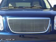 T-REX 2007-2012 GMC Yukon Billet Grille Overlay/Bolt On & Insert (23 Bars) POLISHED 21171