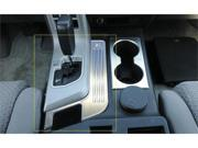 T-REX 2007-2009 Toyota Tundra T1 Series Billet Interior Center Console Trim - Brushed MACHINED 11959