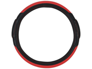 Pilot Racing Style Steering Wheel Cover, Red / Black SW-68R