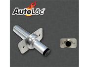 AutoLoc Aluminum Door Popper with Mounting Plate DP3500