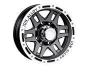 ION STYLE 133 16x8 5X139.7 -5mm 108mm Wheels 133-6885B