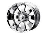 MAZZI HULK 18x10 8X170 -25mm 130.8mm Wheels 755C-8170