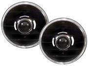 IPCW 07-13 Jeep Wrangler Projector Headlights Black CWS-420B (1 pair)