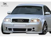 1998-2001 Audi A6 Duraflex Type A Front Lip (must cut OEM Bumper in order to install) 107515