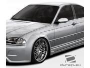 1999-2005 BMW 3 Series E46 4DR Duraflex I-Design Wide Body Front Fender Flares 106514