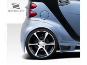 2008-2011 Smart ForTwo Duraflex GT300 Wide Body Rear Fenders 107844