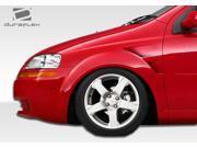 2004-2006 Chevrolet Aveo 2007-2010 Aveo 5DR Duraflex GT Concept Fenders 106167