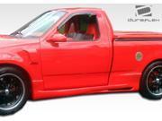 1997-2003 Ford F-150 2DR Extended Cab Duraflex Platinum Side Skirts 105690