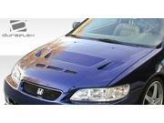 1998-2002 Honda Accord 2DR Duraflex Predator Hood 105534