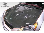 2010-2012 Hyundai Genesis 2DR Duraflex Hot Wheels Hood 105837
