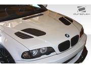 1999-2006 BMW 3 Series E46 2DR Duraflex GT-R Look Hood 107179