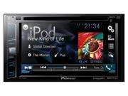 "Pioneer AVHX2700BS DDIN DVD Receiver with 6.2"" Display Bluetooth Siri Eyes Free SiriusXM-Ready Android"
