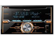 Pioneer DDIN CD Receiver with Bluetooth for Hands-Free Calling and Audio Streaming SiriusXM-Ready FHX820BS