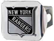"FanMats NHL - New York Rangers Hitch Cover 4 1/2""x3 3/8"", 17168"