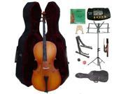 Crystalcello MC150 3/4 Size Cello with Case